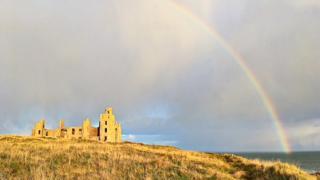 Slains Castle, Cruden Bay.