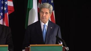 US Secretary of State speaking in Tipperary, Ireland