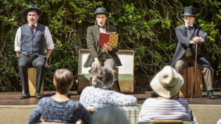 Watermill Theatre production