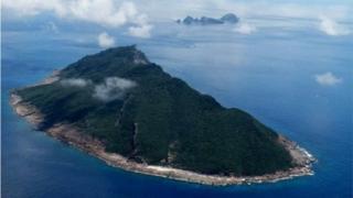 尖阁列岛(中国称钓鱼岛)