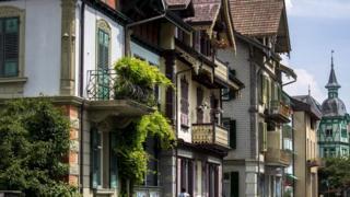 Старый город столицы Швейцарии Берна - объект Всемирного наследия ЮНЕСКО