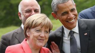 Merkel və Obama
