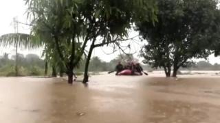 الفيضانات تغرق موزمبيق