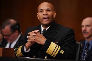 US Surgeon General Jerome Adams