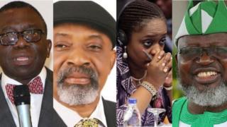 Prof Isaac Adewole, Chris Ngige, Kemi Adeosin, Adebayo Shittu