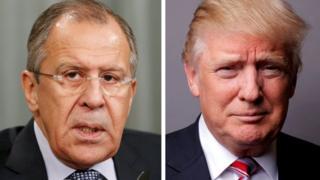 Лавров і Трамп