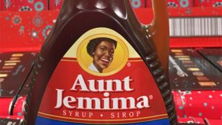 Aunt Jemima syrup bottle in Canada