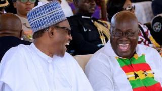 President Muhammadu and President Nana Akufo-Addo
