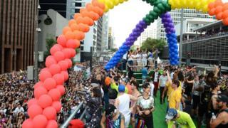 Parada Gay de 2017 em São Paulo