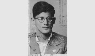 Edward Herzbaum/Hartry as a young man
