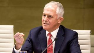 Премьер-министр Австралии Малкольм Тернбулл