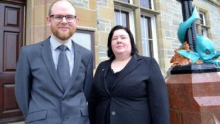 Steven Coutts and Emma MacDonald