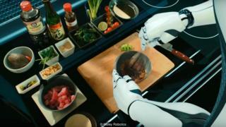 Chef-robô da Moley Robotics