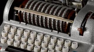 Image of the Fialka M-125 Soviet cipher machine c.1958