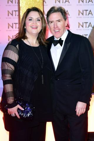 Ruth Jones and Rob Brydon