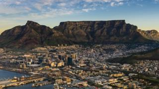 A view of Table Mountain