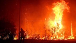 New South Wales bushfires: 'Mega blaze' warning near Sydney