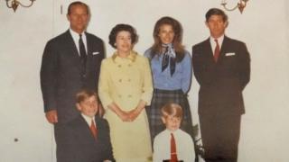 королева єлизавета діти