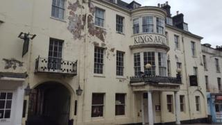 Kings Arms Hotel in Dorchester