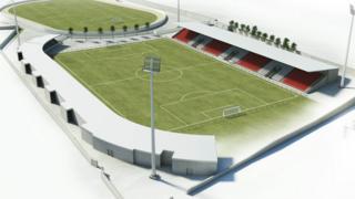 New Brandywell stadium
