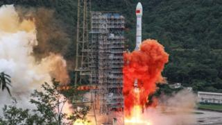China launching the final satellite in its homegrown geolocation system designed to rival the US GPS network.