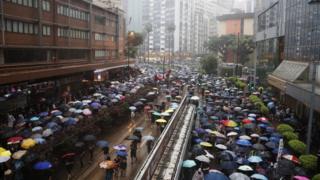 Марш в Гонконге
