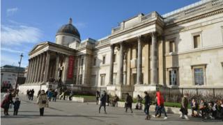 The National Gallery, in London