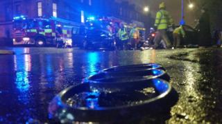 Pollokshaws Road crash