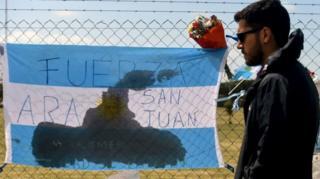 Familiar de marinheiro argentino lamenta