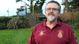 Veteran Tom Adamson