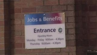JOBS AND BENEFITS ENTRANCE
