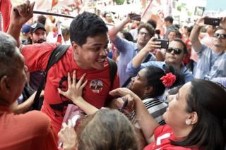 Violencia en Brasil por las elecciones.