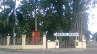 Thurston Gardens, Suva, Fiji
