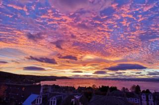 Sky in Newport-on-Tay
