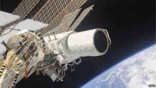 Urthecast camera on ISS