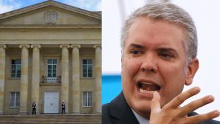 Casa de Nariño y presidente de Colombia, Iván Duque