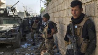 القوات العراقية الخاصة في الموصل الجمعة