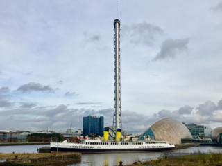 TS Queen Mary and Glasgow Science Centre