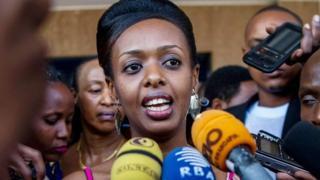 Diane Rwigara avuga ko ahamwa kubera imvo za politike