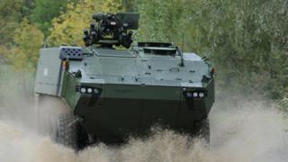 General Dynamics Piranha vehicle
