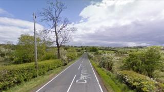 Derrynoose Road outside Keady