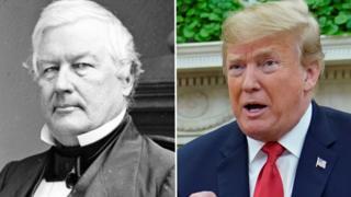 Fillmore and trump