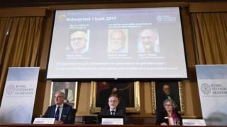 Nobel Fizik ödülü duyurusu
