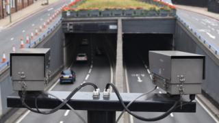 Cameras look at Birmingham tunnels