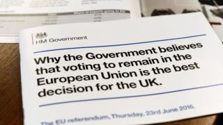 EU leaflet