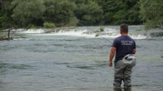 Anes Halkic fishing