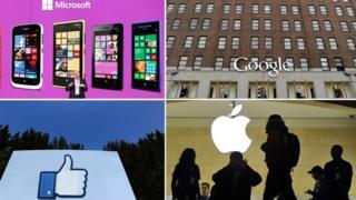 Composición de empresas tencológicas