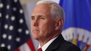 El vicepresidente de Estados Unidos, Mike Pence, en Washington, DC.