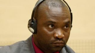 Germain Katanga looks on during the closing statements in his trial, at the International Criminal Court (ICC) in The Hague on May 15, 2012.