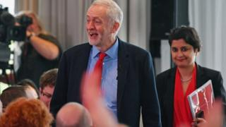 Jeremy Corbyn and Shami Chakrabarti